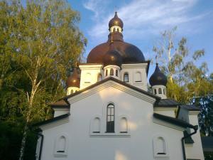 """Церковь в честь иконы Божией Матери """"Всецарица"""" в с. Осыково"""