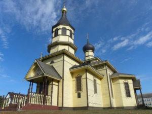 Церковь Пресвятой Троицы п. Телеханы