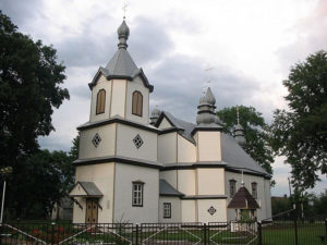 Церковь Преображения Господня с. Хотислав