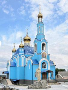 Церковь Чуда Архистратига Михаила в Хонех с. Слобода-Шаргородская