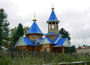 Церковь Успения Пресвятой Богородицы п. Лоскутово