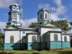 Церковь святителя Николая Чудотворца с. Лозовой Яр