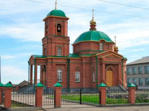 Церковь Георгия Победоносца с. Ново-Кусково