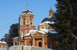 Церковь святой Татианы Томской п. Богашово