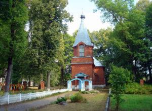 Церковь святого Николая Чудотворца аг. Узмёны