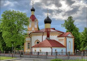 Церковь святого Николая Чудотворца г. Волковыск